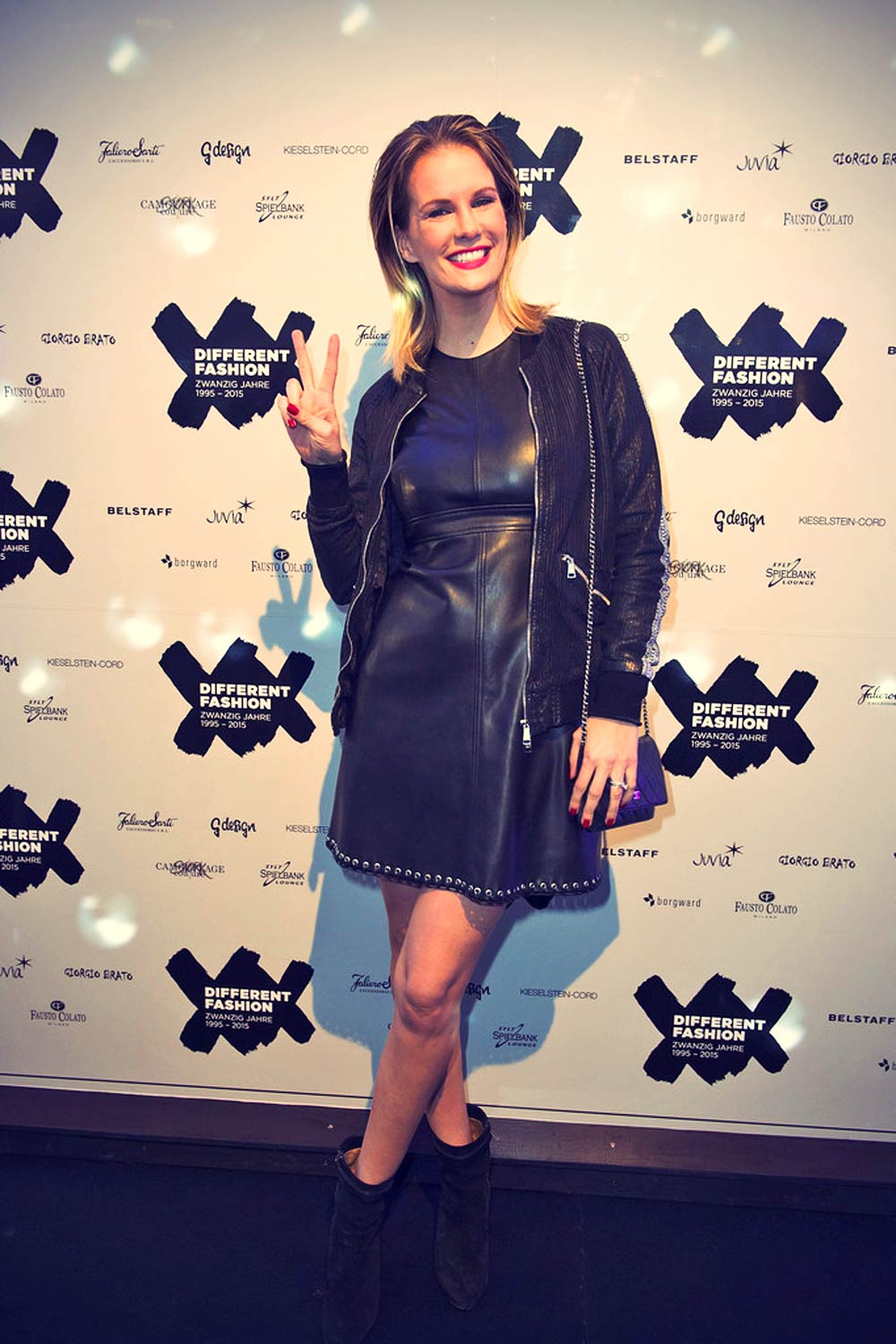 Monica Ivancan attends the Different Fashion Party 2015