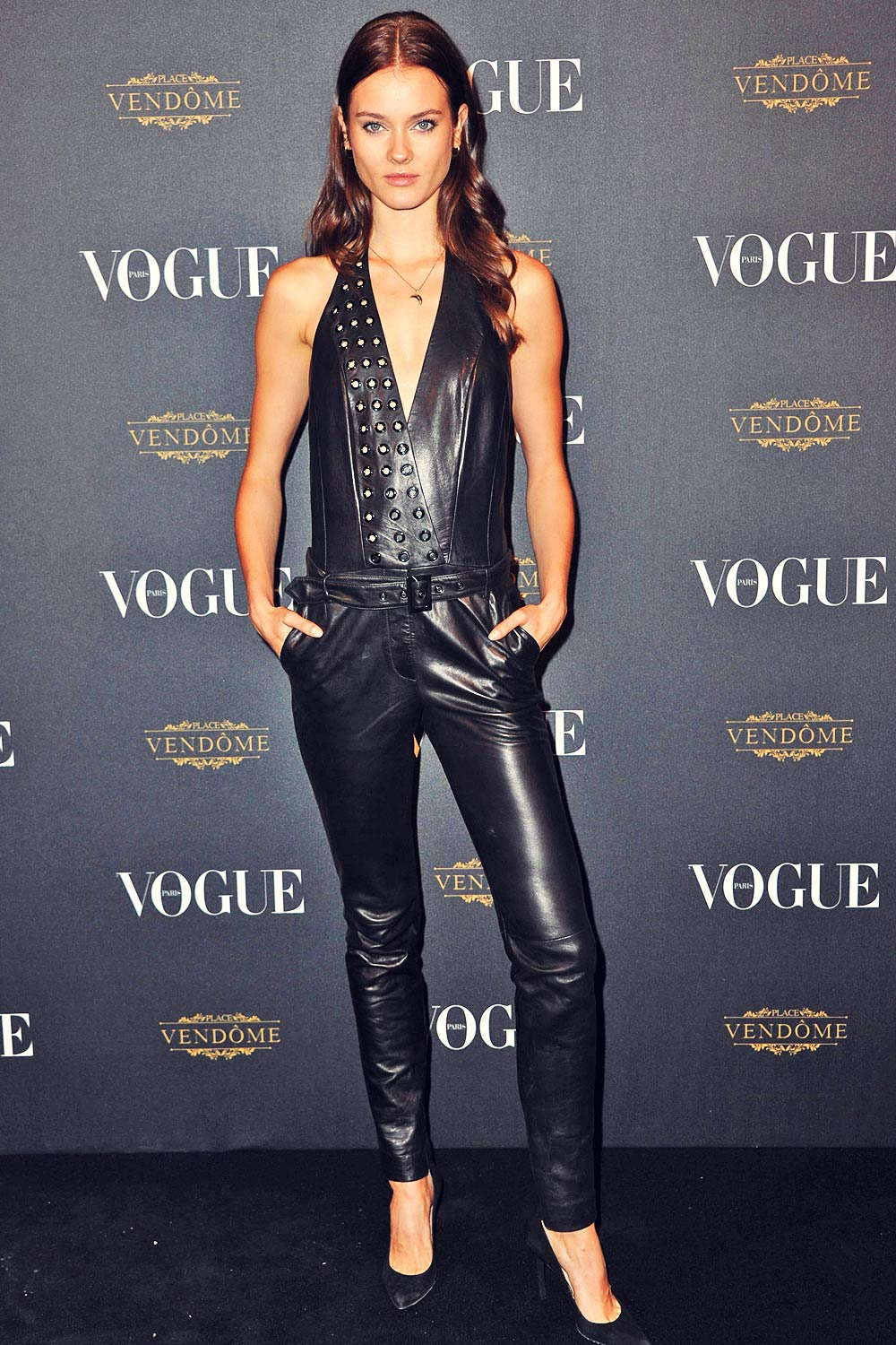Monika Jagaciak Attends Vogue 95th Anniversary Party