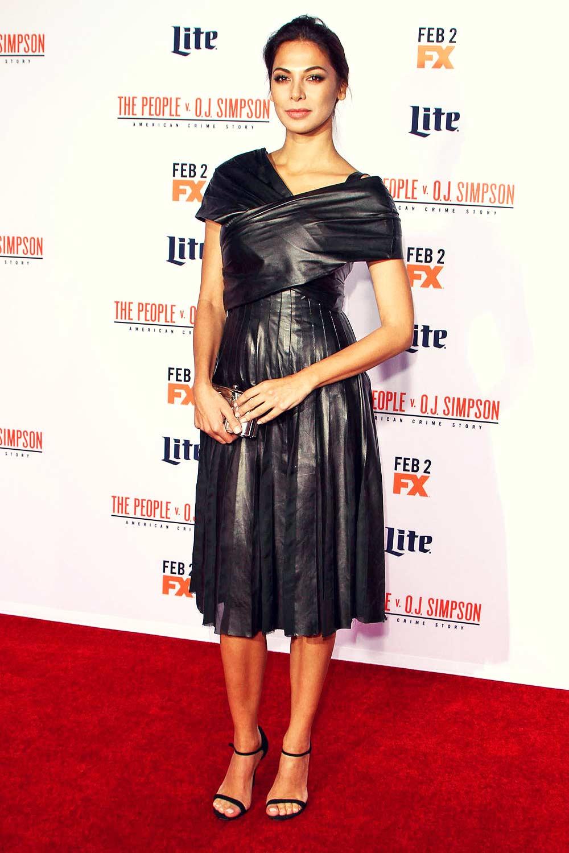 Moran Atias attends American Crime Story premiere