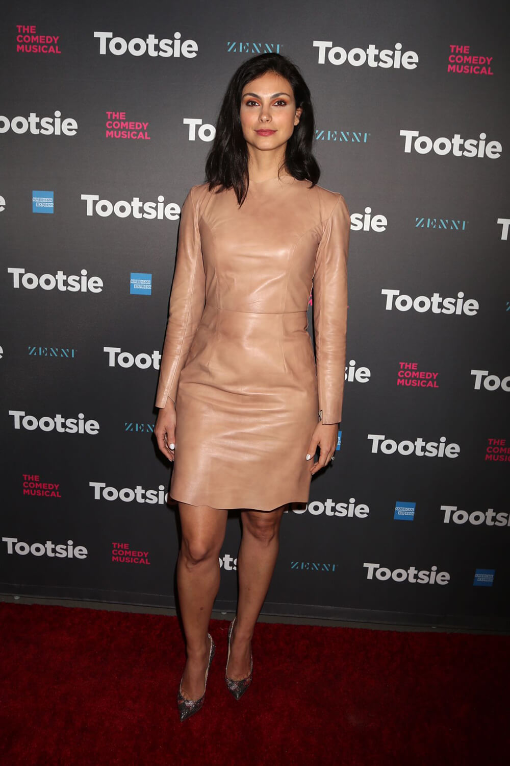 Morena Baccarin attends Tootsie Broadway Play Opening Night at Marquis Theater in New York City | 04