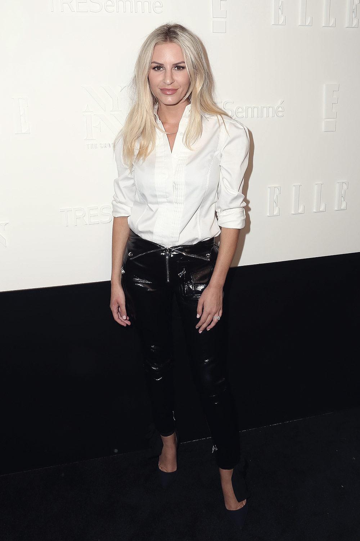 Morgan Stewart attends Elle IMG party