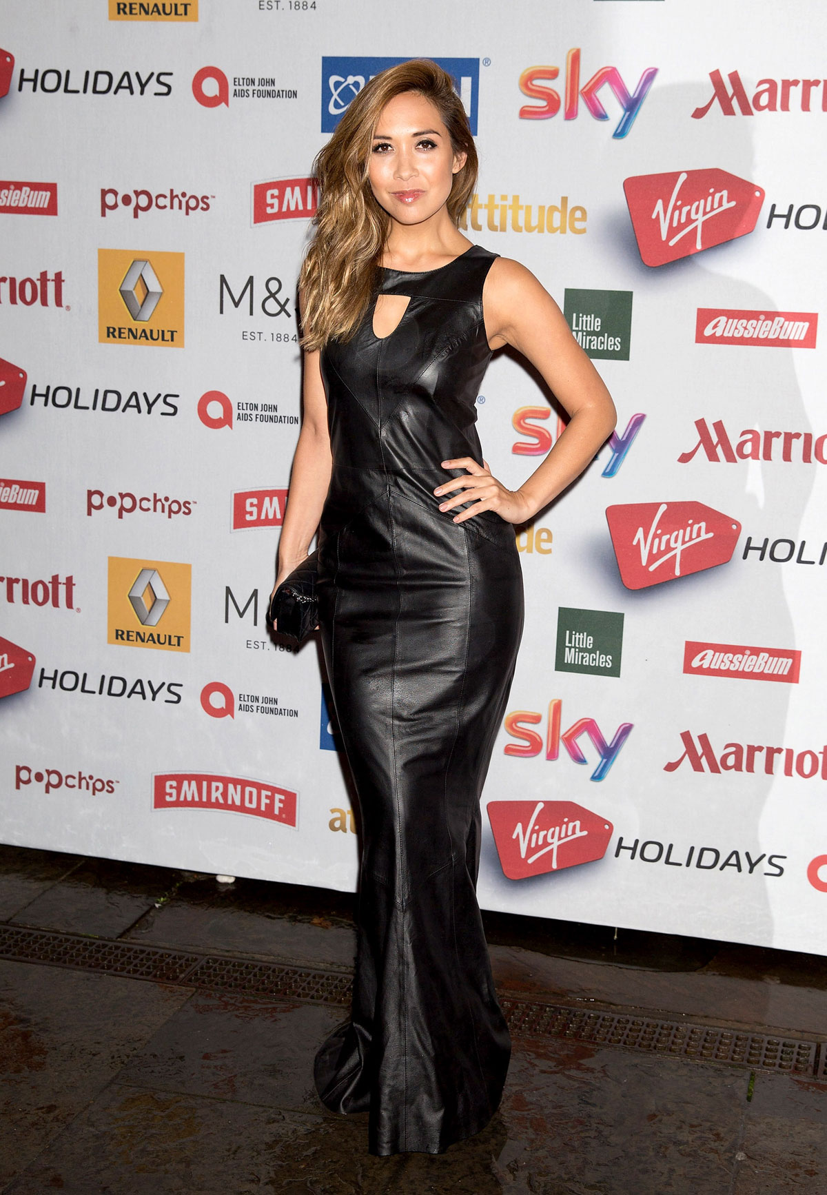 Myleene Klass Attends The Attitude Awards At Banqueting