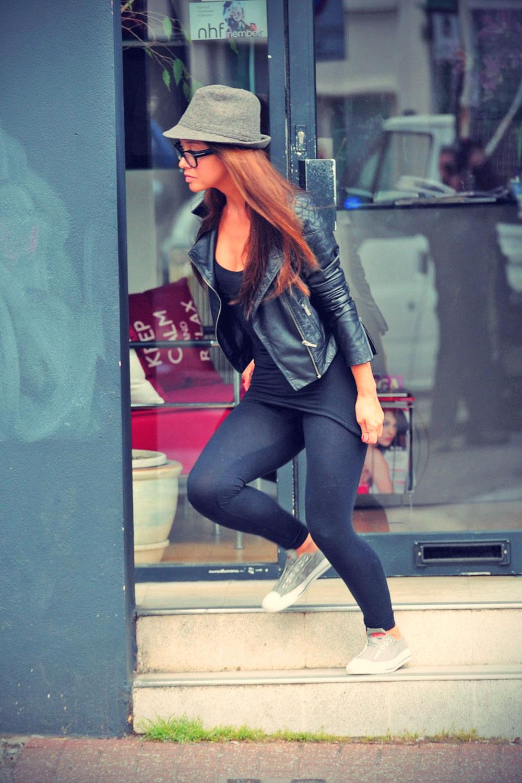 Myleene Klass out & about in London