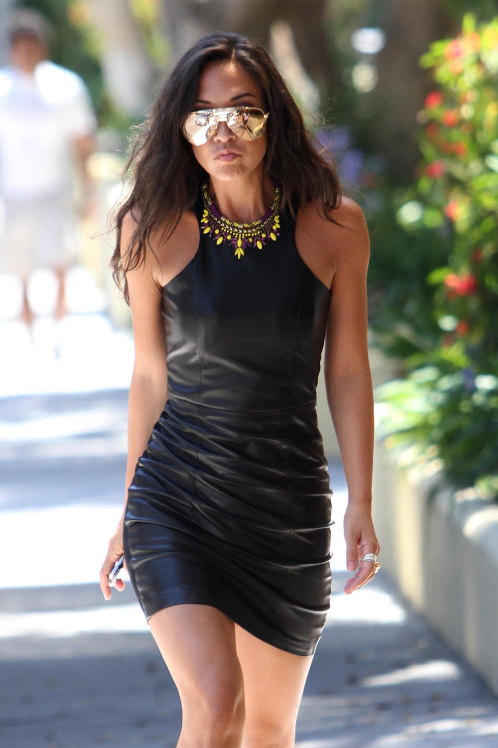 Myleene Klass Leather Dress