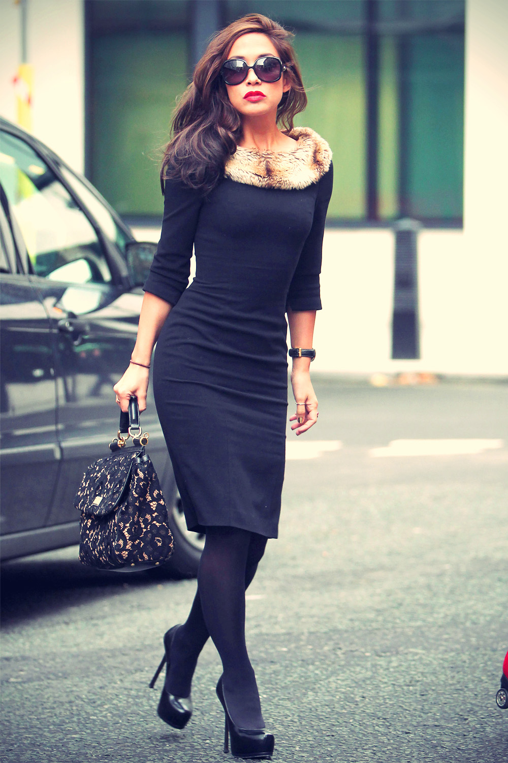 Myleene Klass at the studios of BBC Radio 2