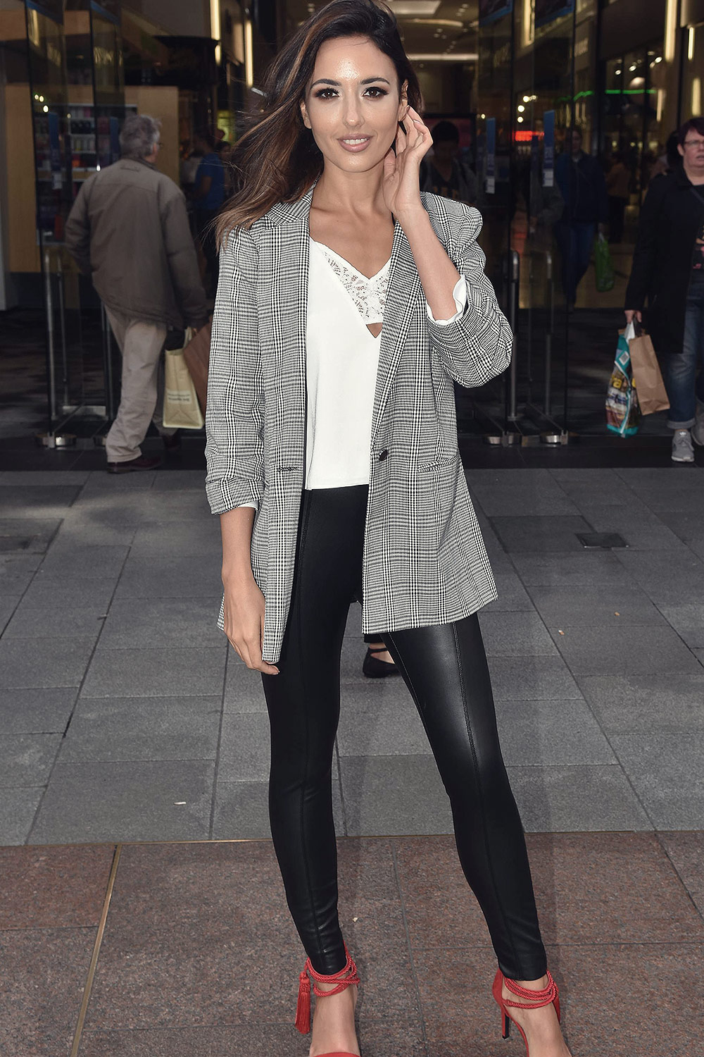 Nadia Forde attends Launches Jervis Shopping Centre's 21st Birthday