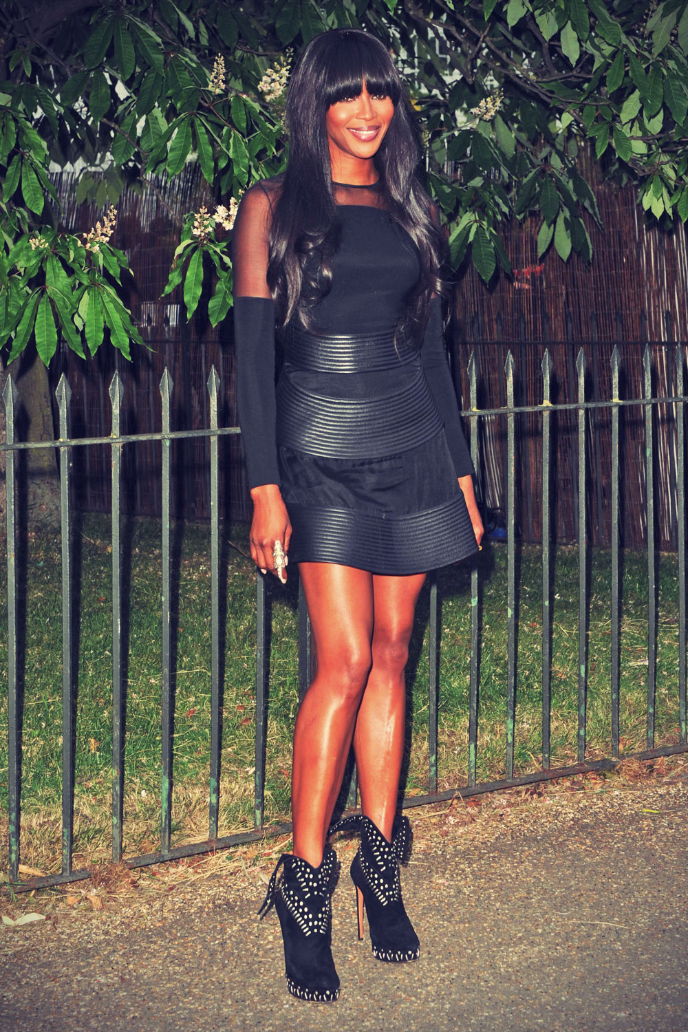 Naomi Campbell attends Serpentine Gallery Summer Party