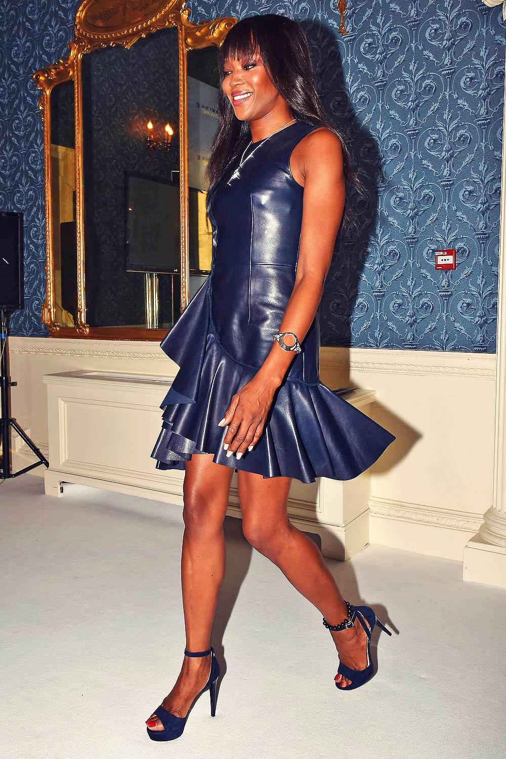 Naomi Campbell revealed as new face of Newbridge Silverware