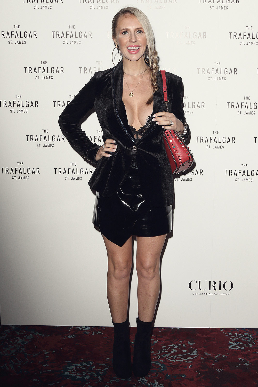 Naomi Isted attends Trafalgar St James Official Launch Party