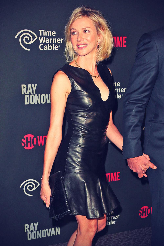 Naomi Watts attends Ray Donovan premiere