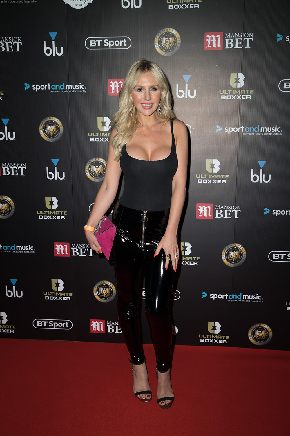 Naomi Isted attends Red Carpet for Ultimate Boxxer 3