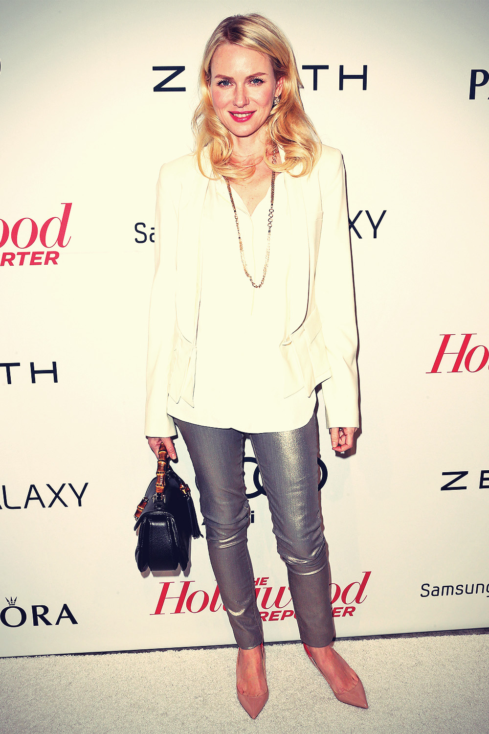 Naomi Watts attends The Hollywood Reporter's Nominee's Night
