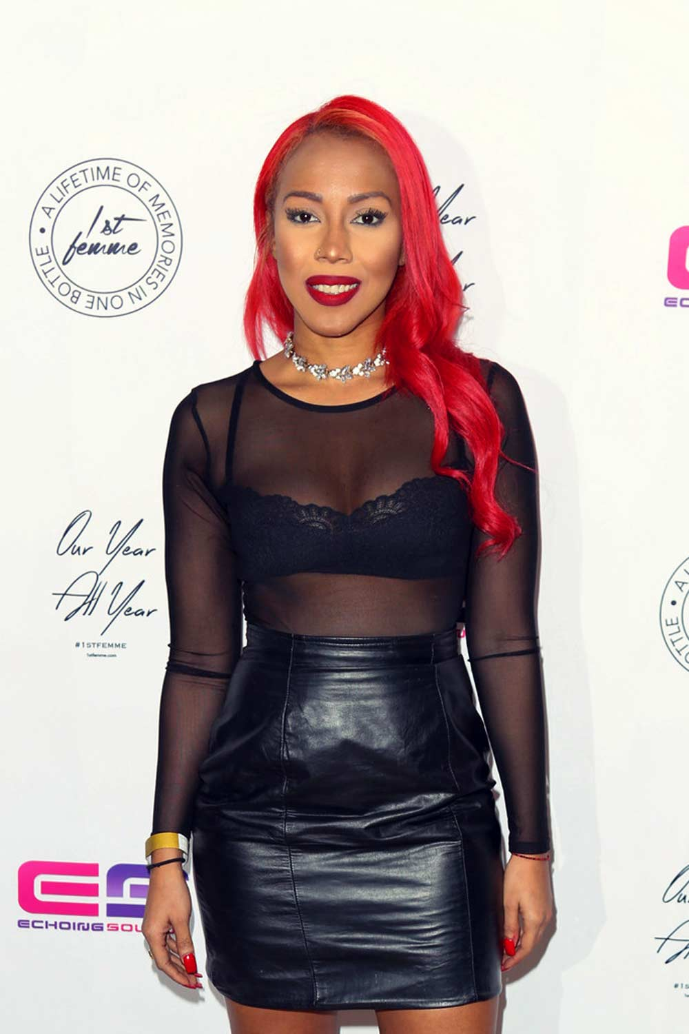 Nastassia Smith attends the La'Myia Good Hosts 1st Femme Fragrance launch
