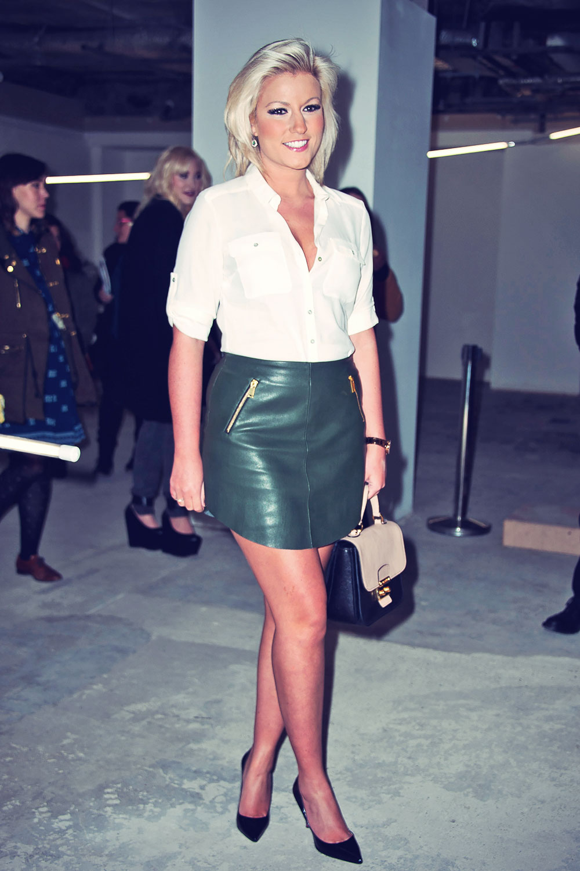 Natalie Coyle attends British Fashion Council International Fashion