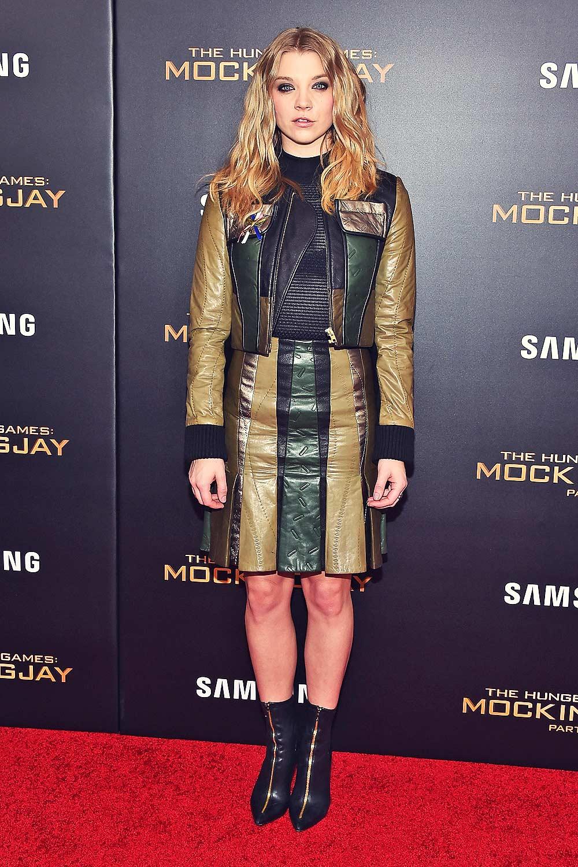 Natalie Dormer attends NY Screening of The Hunger Games Mockingjay Part 2