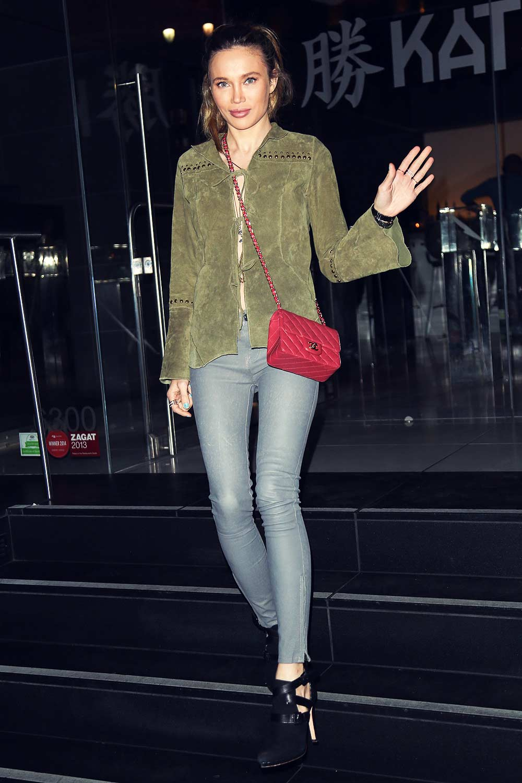 Natalie Gal at Katsuya Hollywood