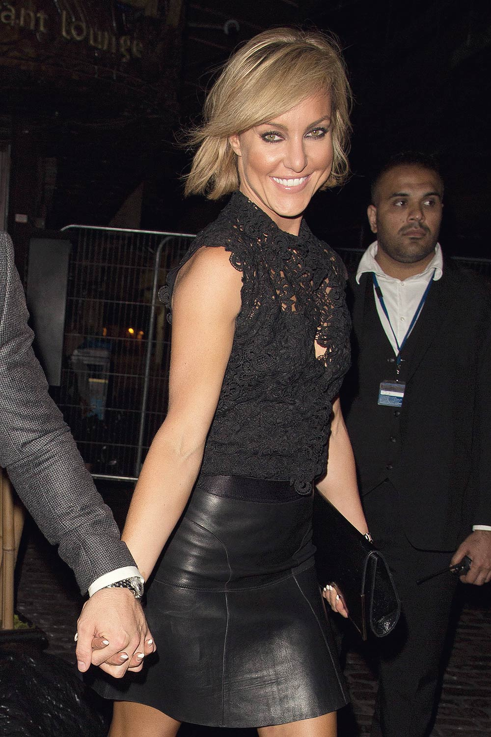 Natalie Lowe Out At Gilgamesh Leather Celebrities