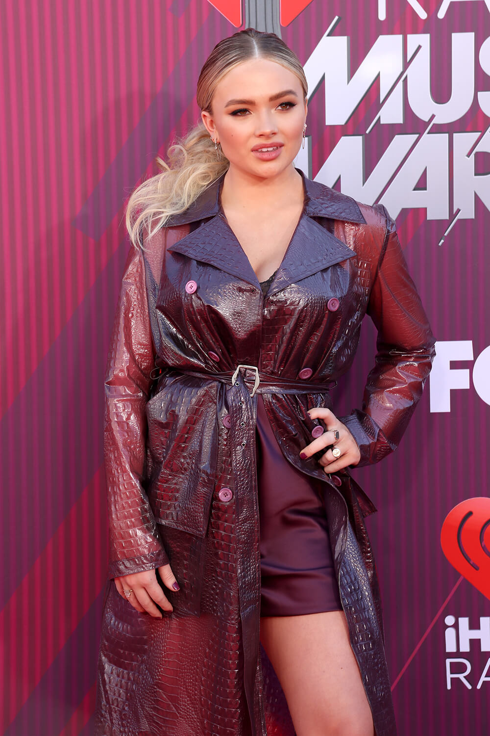Natalie Alyn Lind attends 2019 iHeartRadio Music Awards