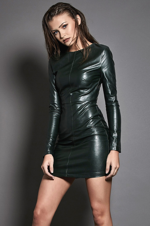 Natalya Wright Karis Kennedy Photoshoot Leather Celebrities