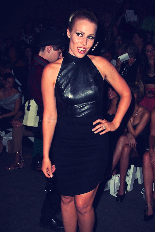Natasha Bedingfield at Christian Siriano fashion show