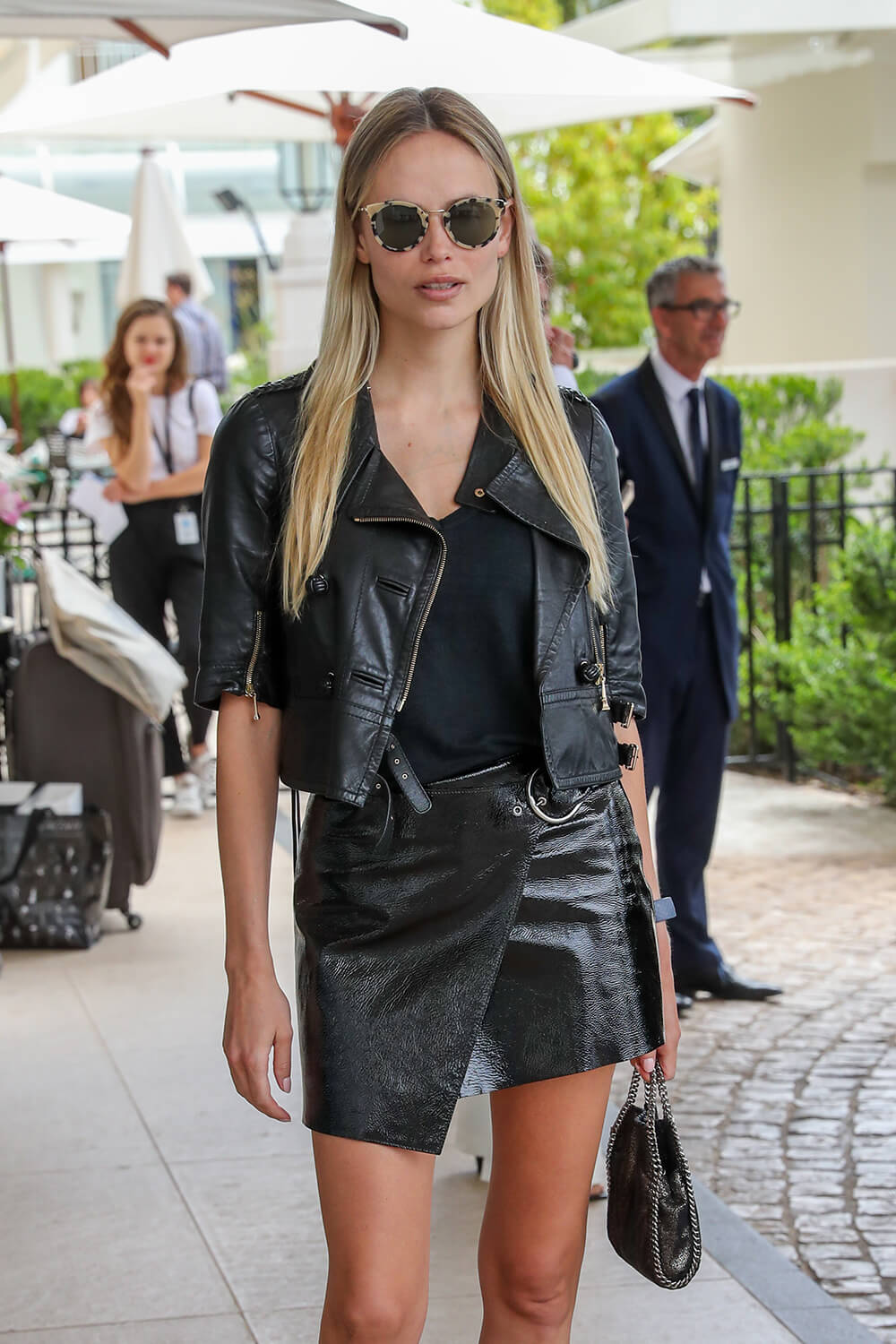 Natasha Poly at the Martinez Hotel during the 72nd Annual Cannes Film Festival