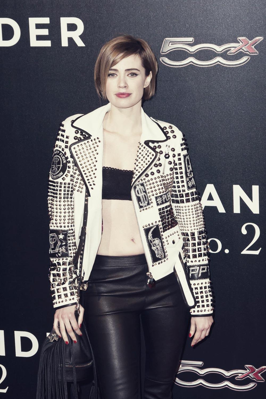 Nathalie Rapti Gomez attends Zoolander 2 Premiere