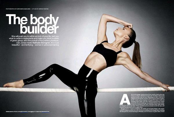 Nathalie Bomgren ES magazine