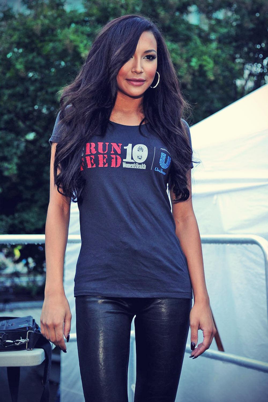 Naya Rivera attends Women's Health Magazine Run10 Feed10 Race Event