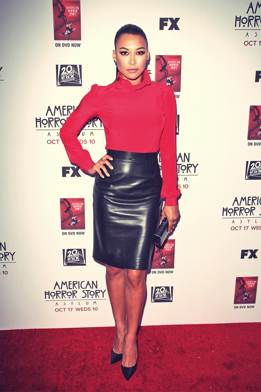 Naya Rivera attends American Horror Story Asylum Screening