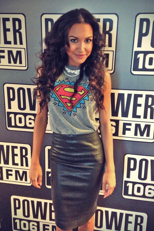Naya Rivera on Power 106 FM in LA