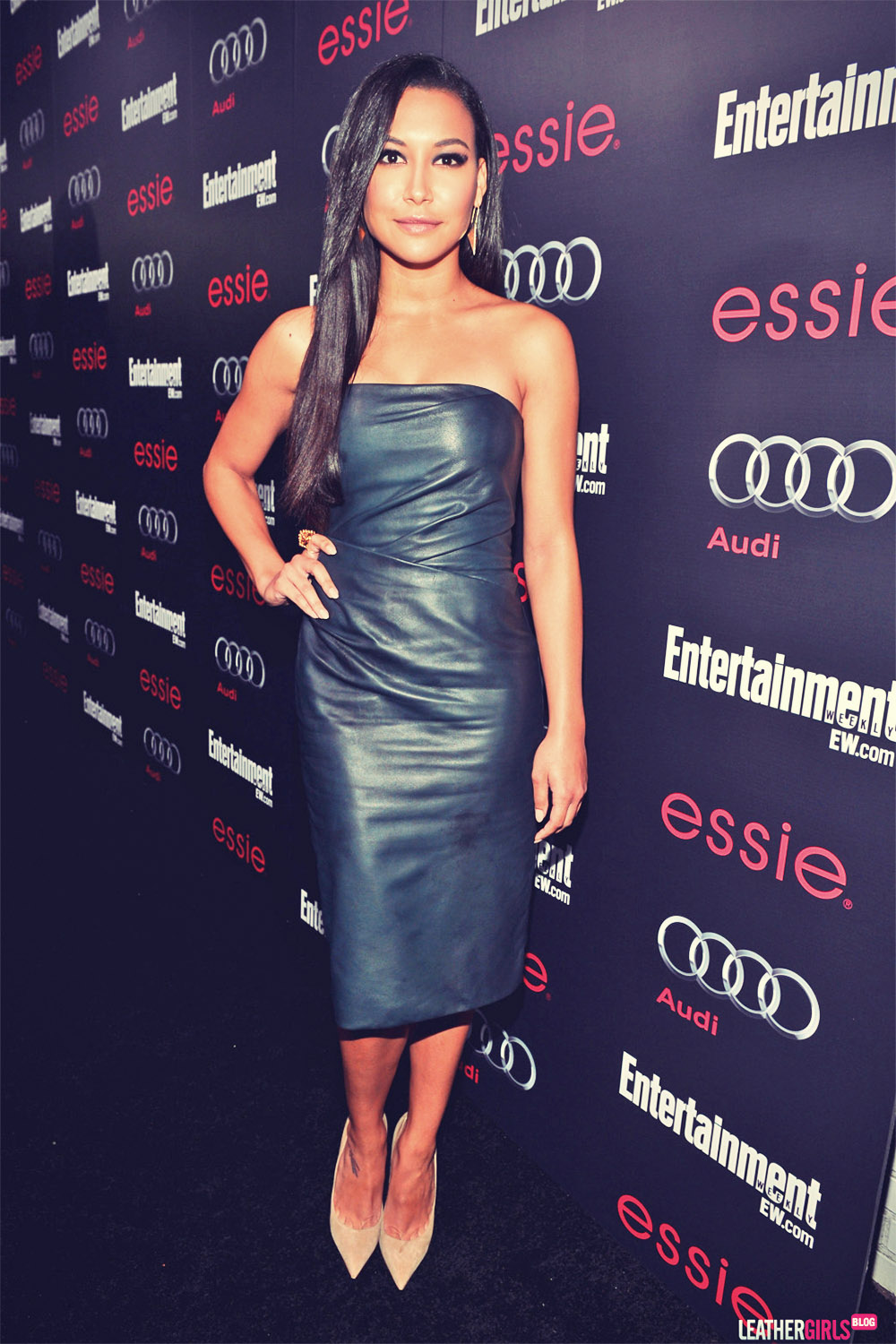 Naya Rivera attends Entertainment Weekly's Pre-SAG Awards bash