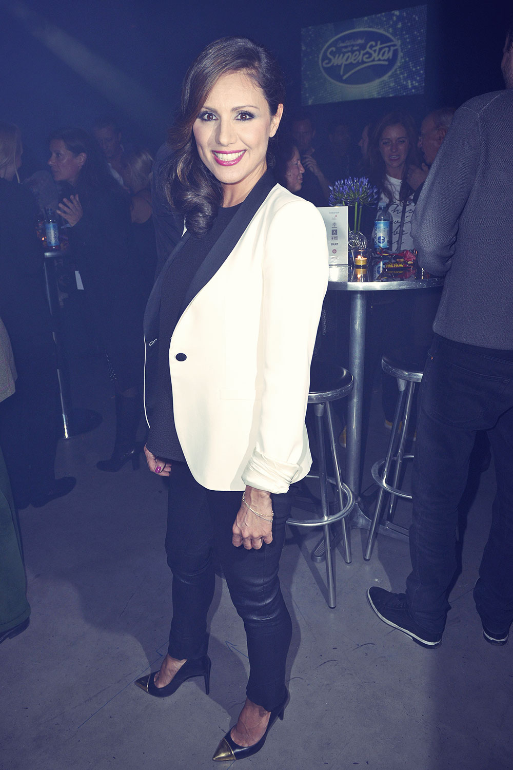 Nazan Eckes attends DSDS Afterparty
