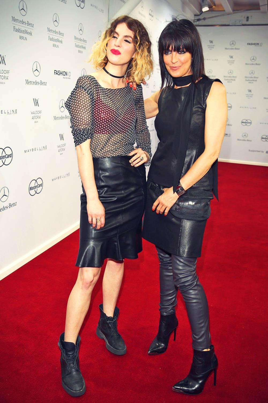 Nena and Larissa Kerner attend the Minx by Eva Lutz show