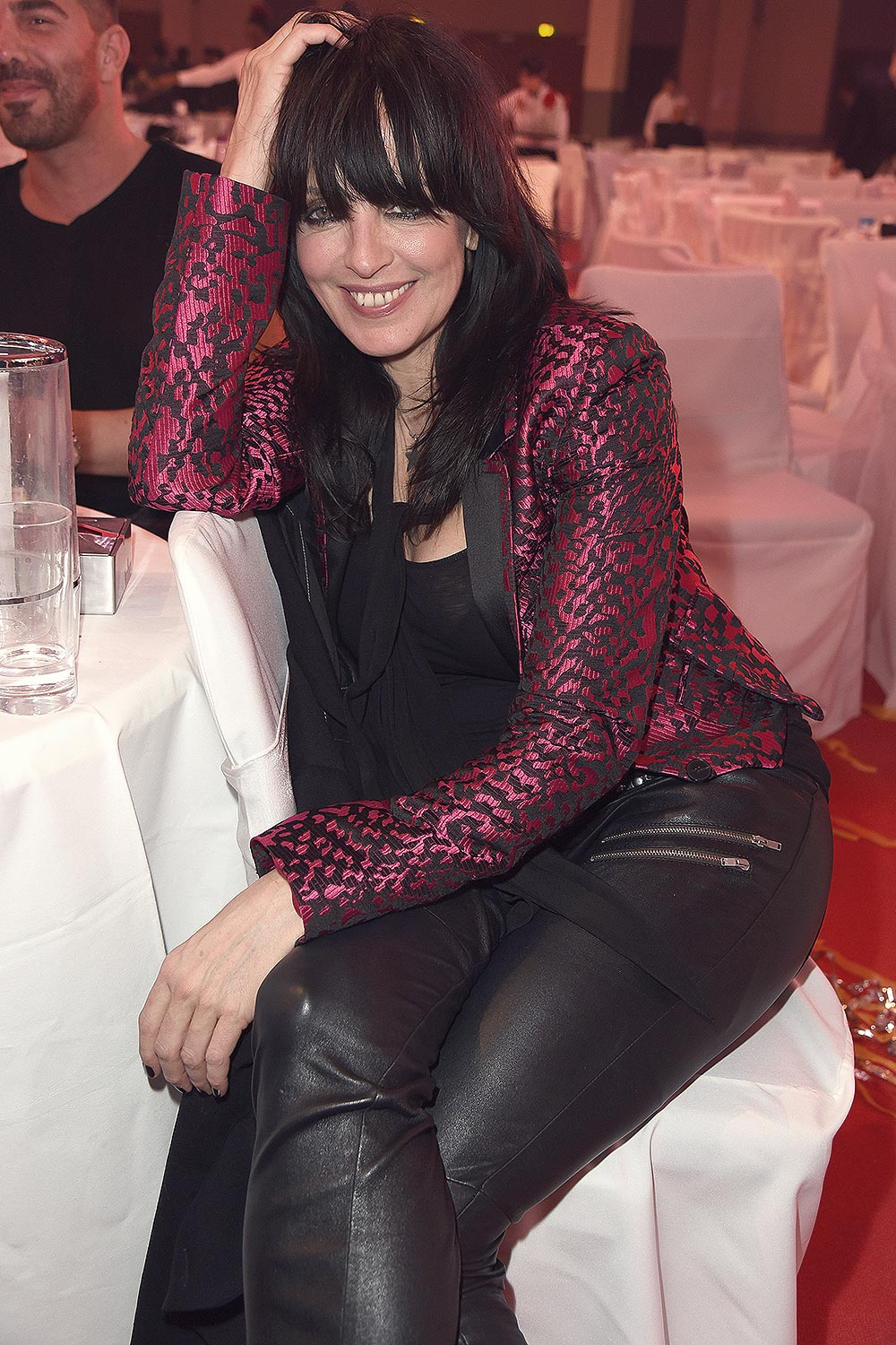 Nena Attends Prg Live Entertainment Award Leather