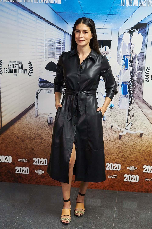 Nerea Barros attends 2020 Film Premiere at Wizink Center, Madrid