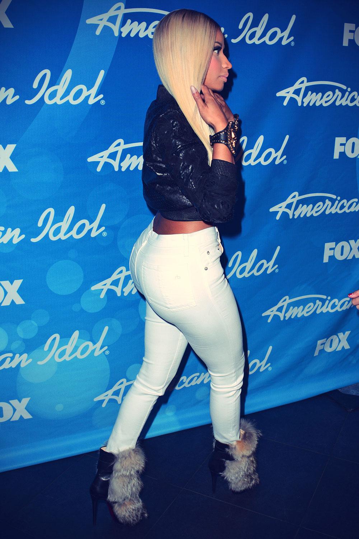 Nicki Minaj American Idol Season 12 Finale