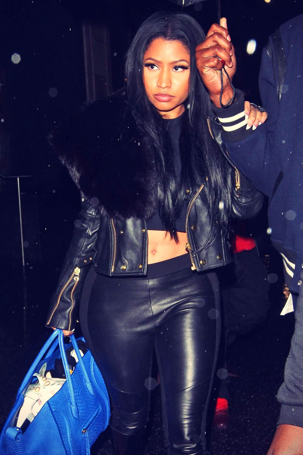 Nicki Minaj at  Katsuya restaurant