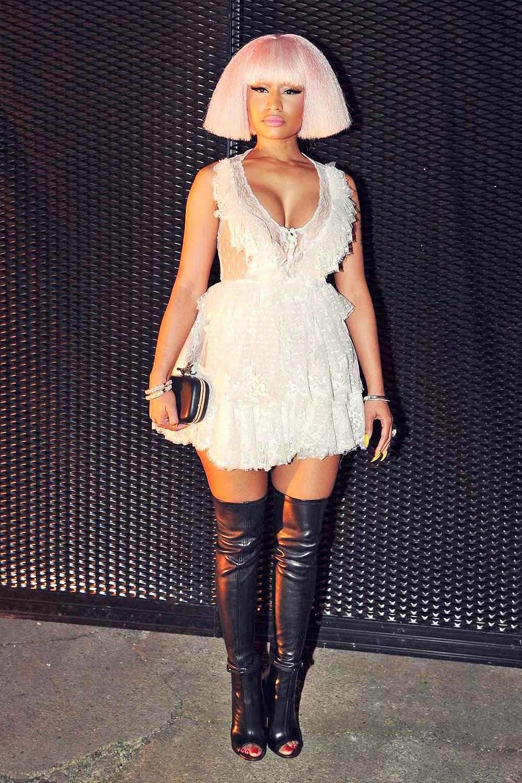 Nicki Minaj at Givenchy party during Woman Fashion Week S/S 2016