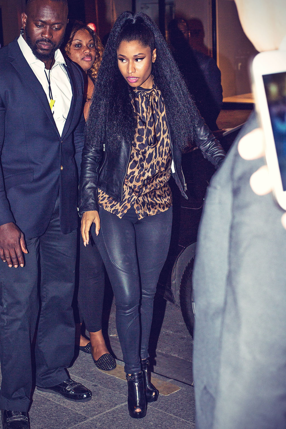 Nicki Minaj out and about in Paris