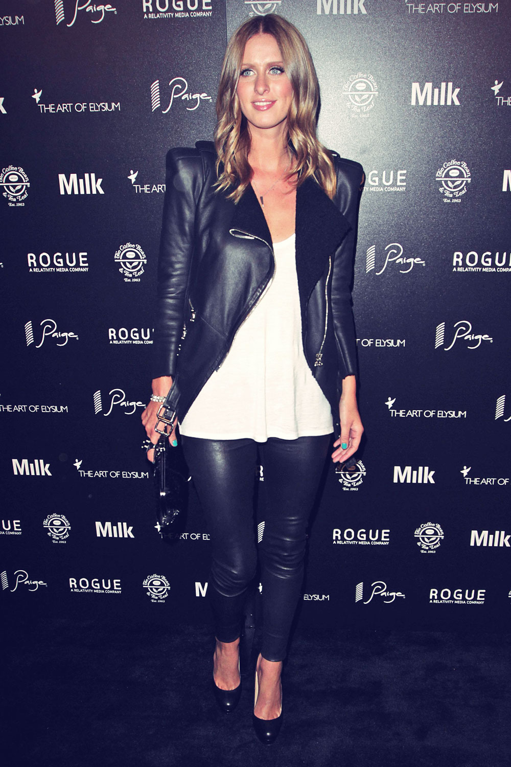 Nicky Hilton attends The Art of Elysium Event