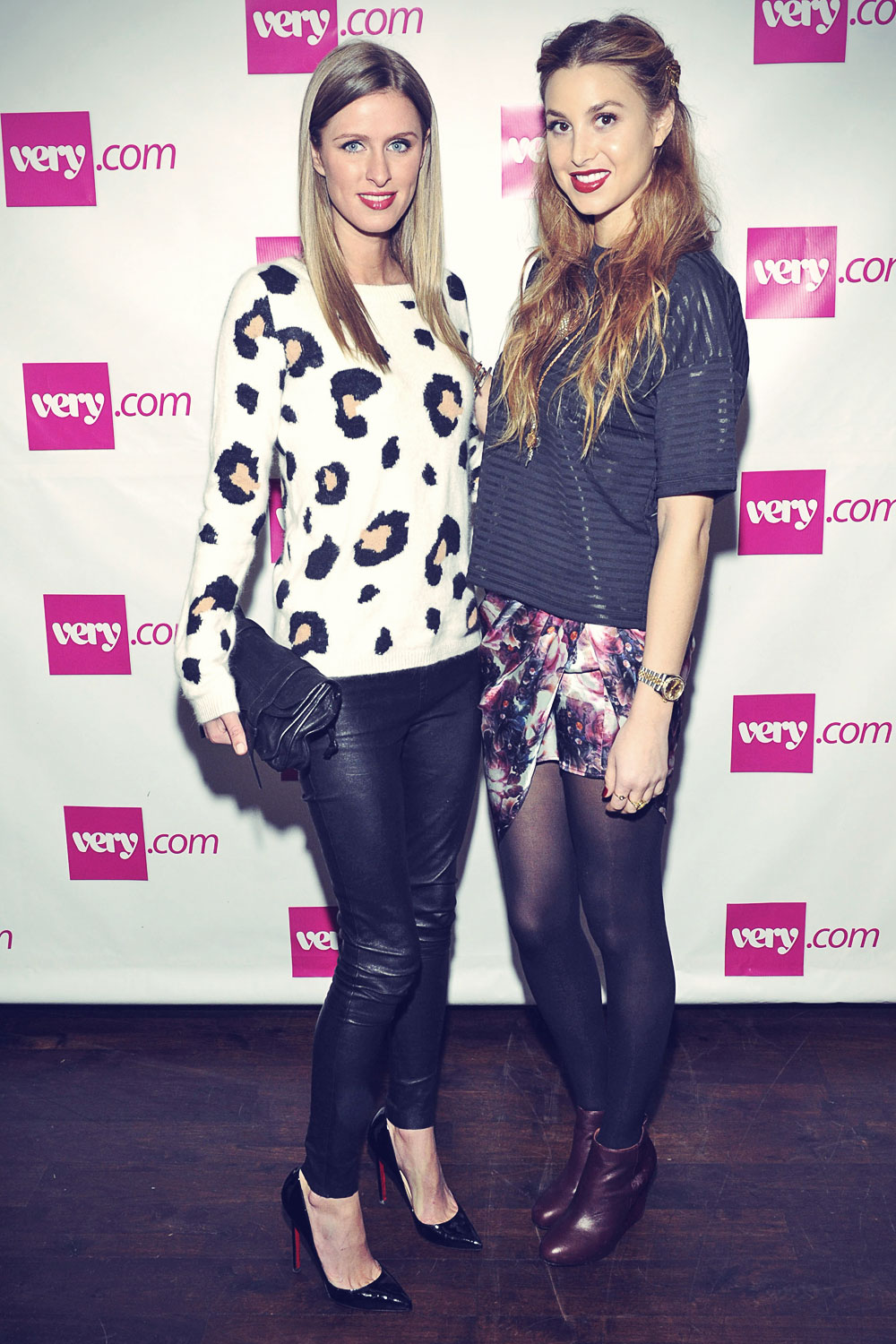 Nicky Hilton and Whitney Port launch event