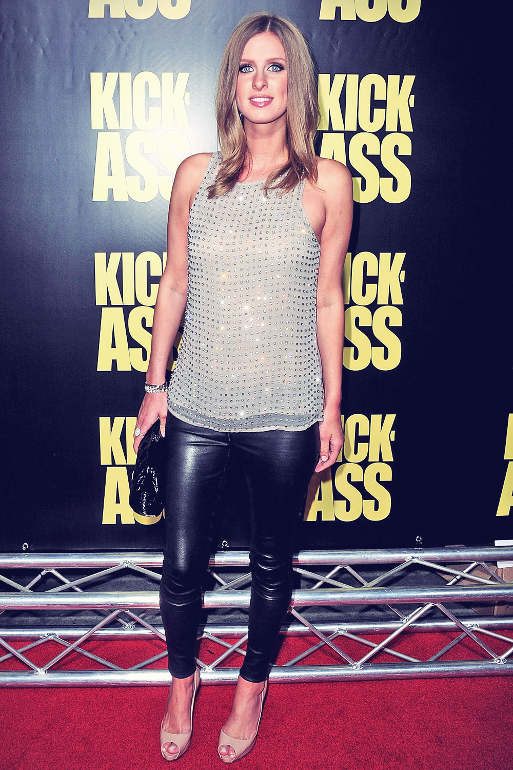 Nicky Hilton arrives at the Kick-Ass LA Premiere