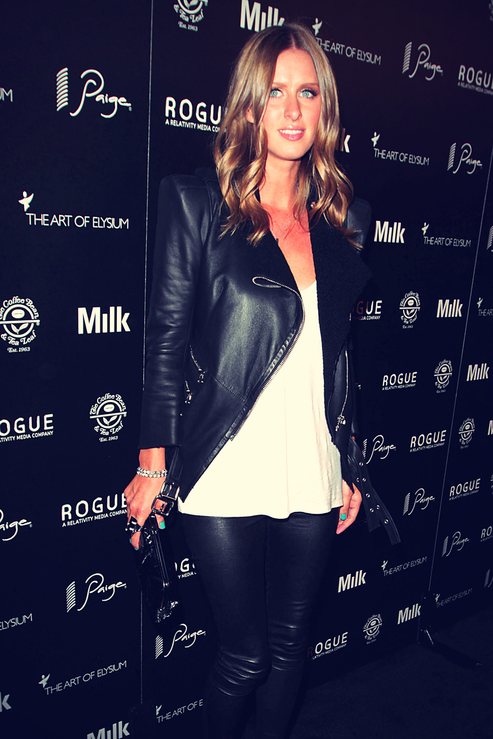 Nicky Hilton at Art of Elysium's second annual Genesis event