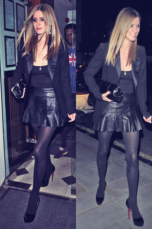 Nicky Hilton at C Restaurant and Embassy Nightclub