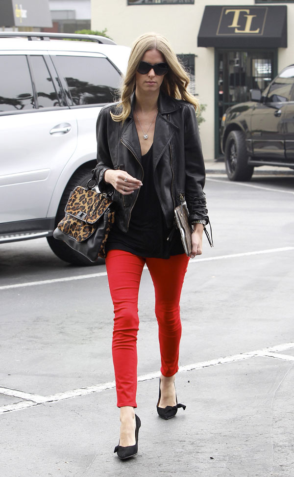 Nicky Hilton out and about in West Hollywood
