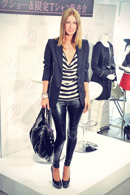 Nicky Hilton promotes her fashion brand