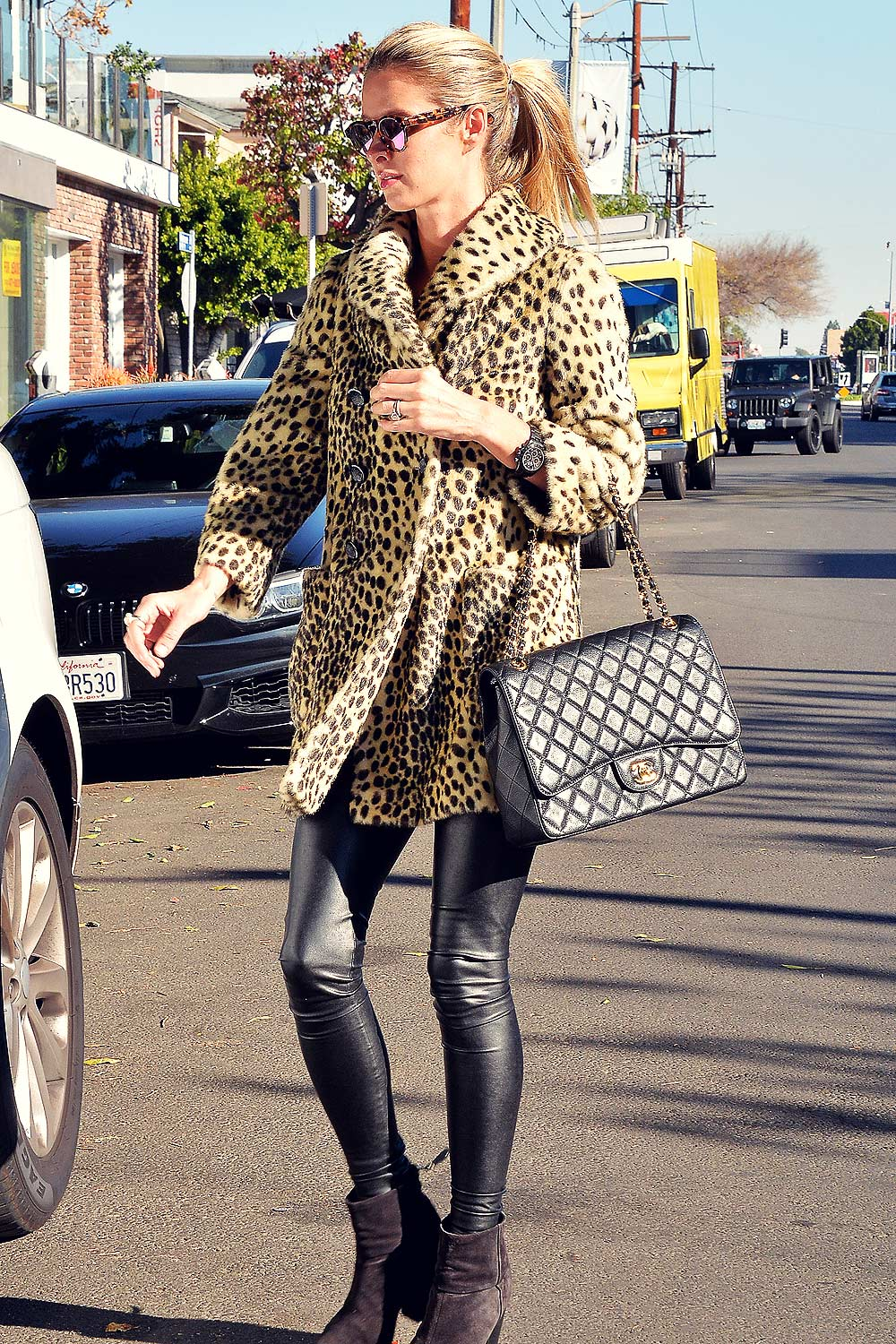 Nicky Hilton shopping in West Hollywood