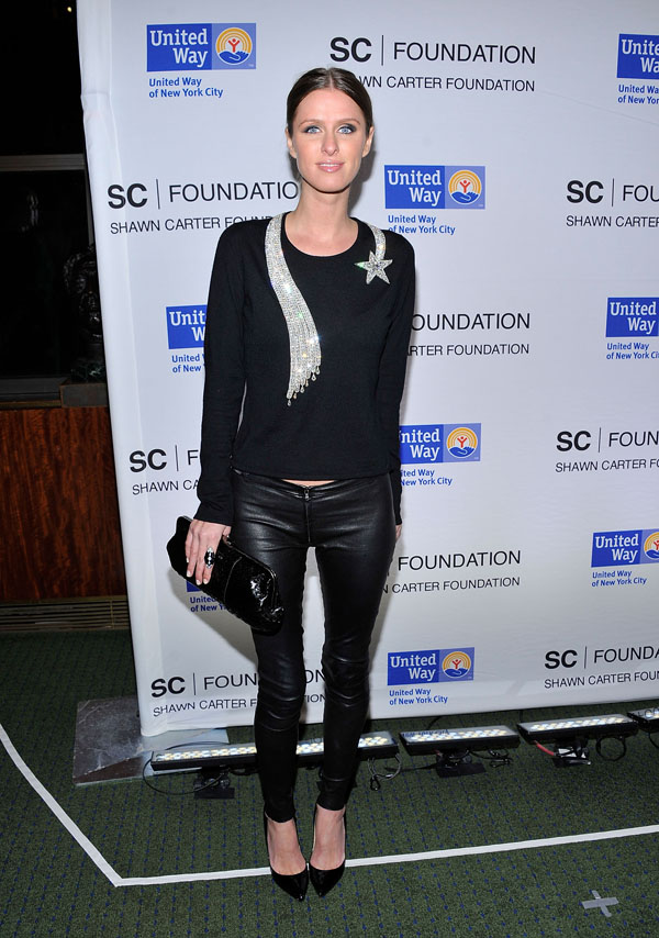 Nicky Hilton at United Way of NYC and the Shawn Carter Foundation