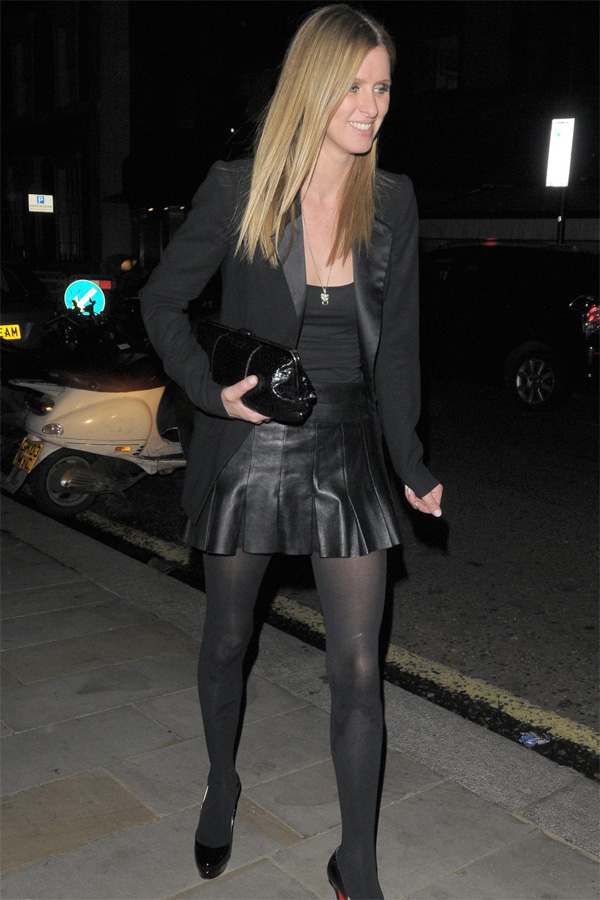 Nicky Hilton at C Restaurant and Embassy Nightclub in London