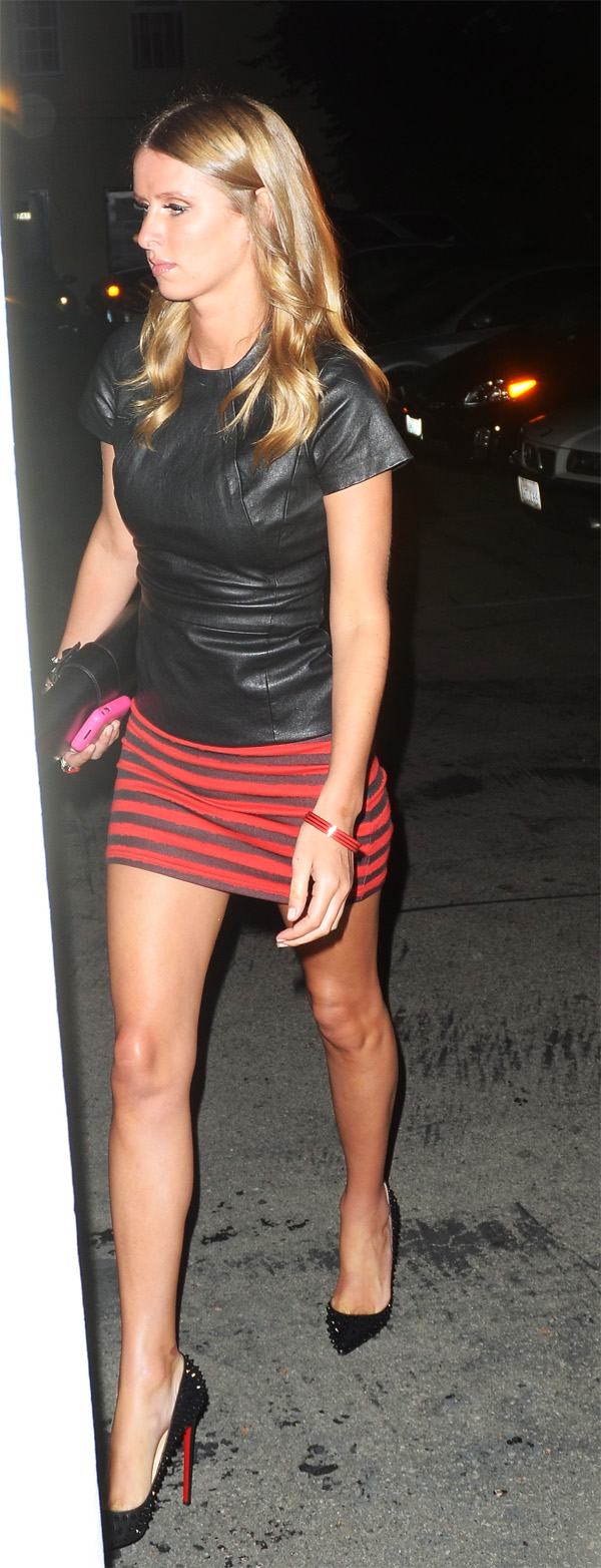 Nicky Hilton at Il Sole Restaurant in Los Angeles